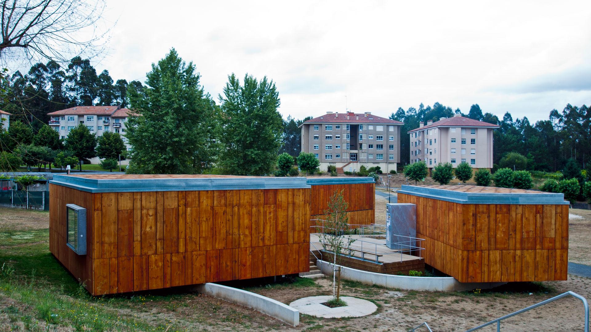 Centro Sociocultural en Teo. S. de Compostela