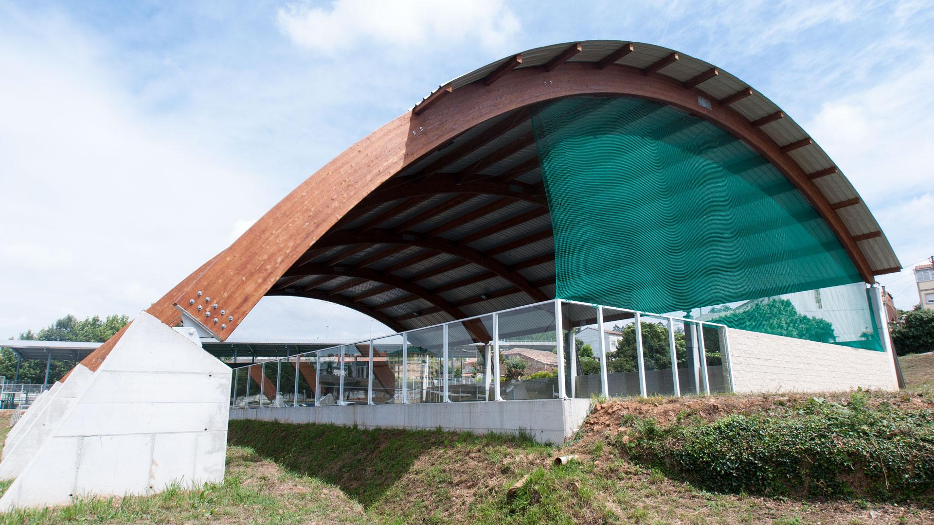 Pista de tenis en Santiago de Compostel